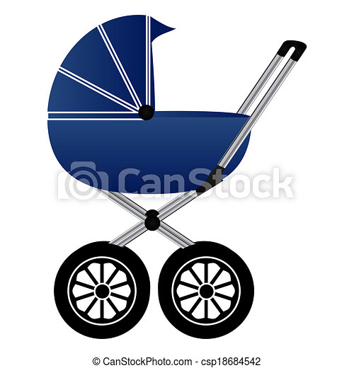 Baby carriage - csp18684542