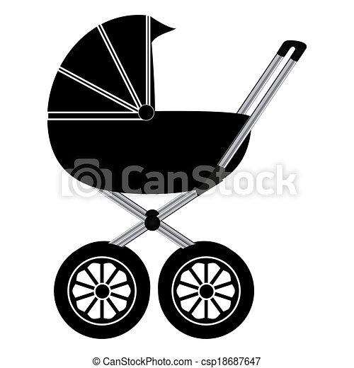 Baby carriage - csp18687647