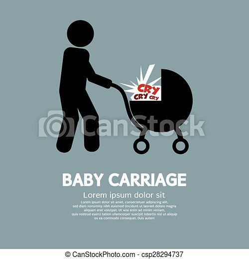 Baby Carriage. - csp28294737