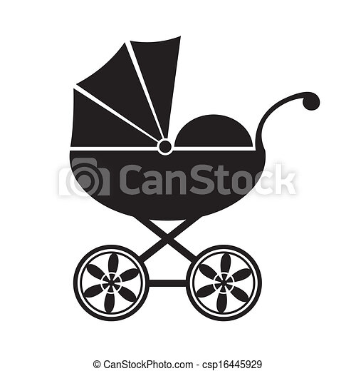 Baby carriage - csp16445929