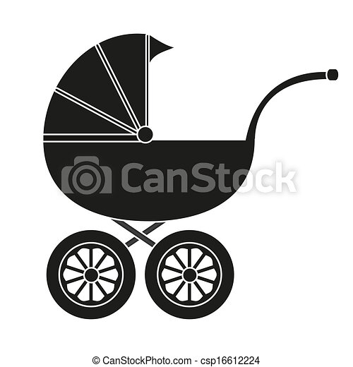 Baby carriage - csp16612224
