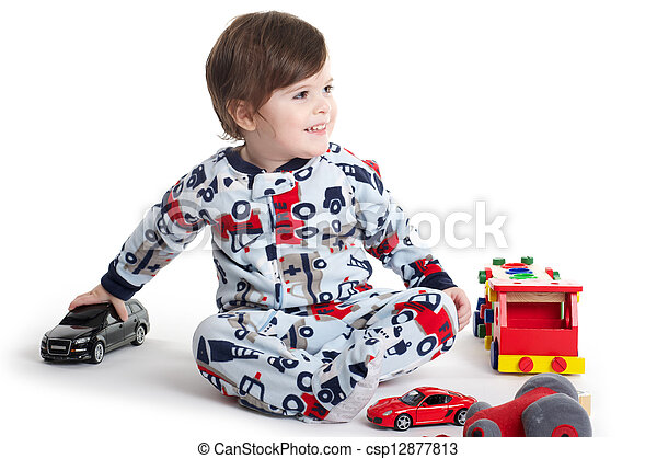 Baby Child playing - csp12877813