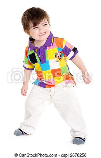 Baby child playing - csp12878258