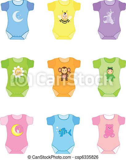 baby clothes - csp6335826