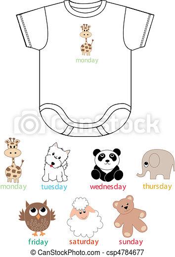 baby clothing - csp4784677