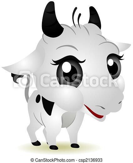 Baby Cow - csp2136933