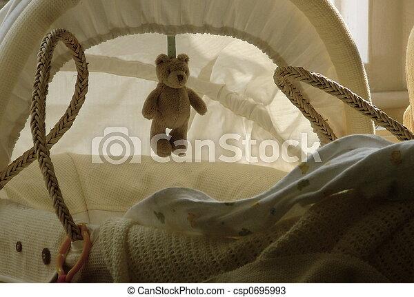 Baby Crib - csp0695993