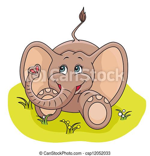 Baby Elephant - csp12052033