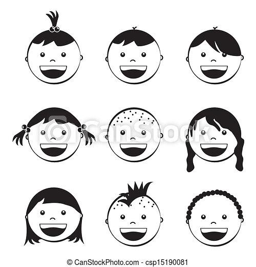 baby faces - csp15190081