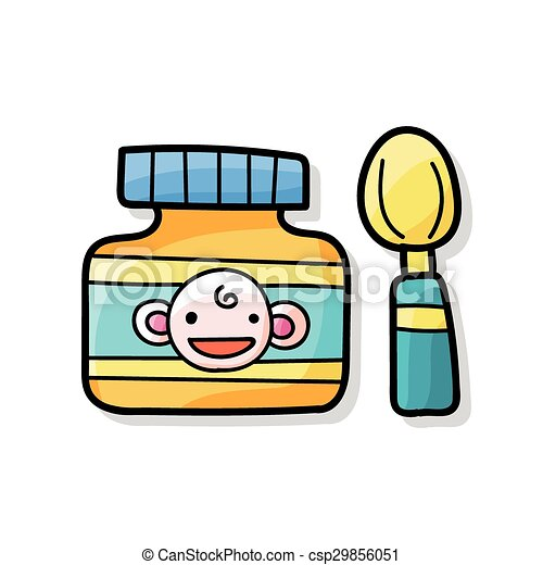 baby food doodle clipart vector search illustration drawings and rh canstockphoto com baby food jar clipart cute baby food clipart