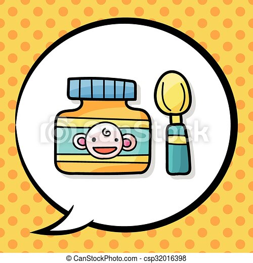 baby food doodle eps vectors search clip art illustration rh canstockphoto com cute baby food clipart