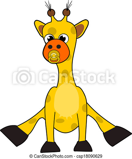 cute little baby giraffe clip art search illustration drawings rh canstockphoto com cute baby giraffe clipart baby giraffe clip art free