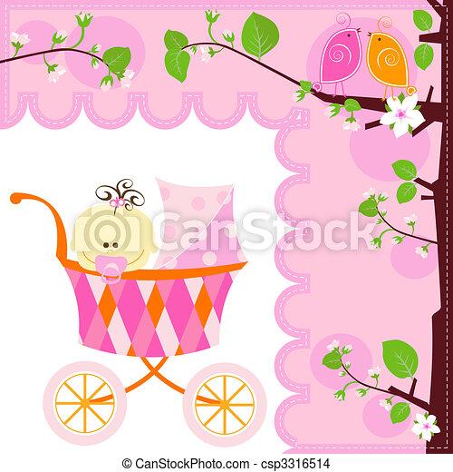 baby girl - csp3316514