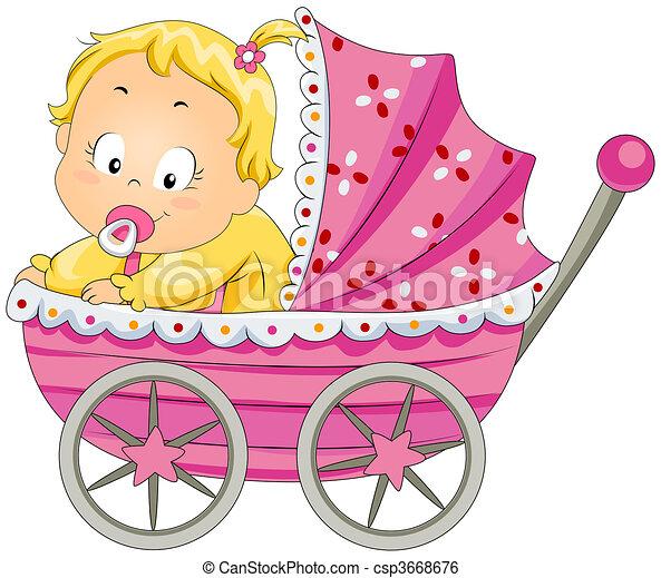 Baby Girl - csp3668676
