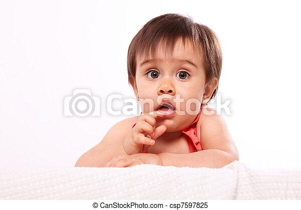 baby girl - csp7597825