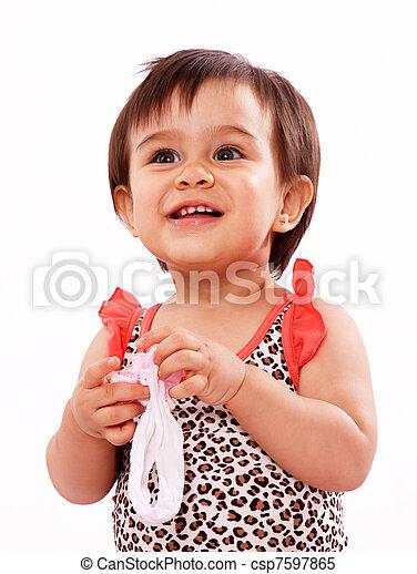 baby girl - csp7597865