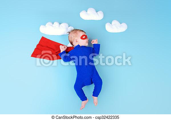 baby hero - csp32422335