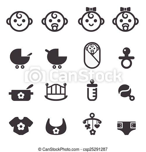 baby icon - csp25291287