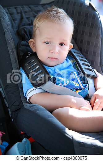 Baby in car seat  - csp4000075