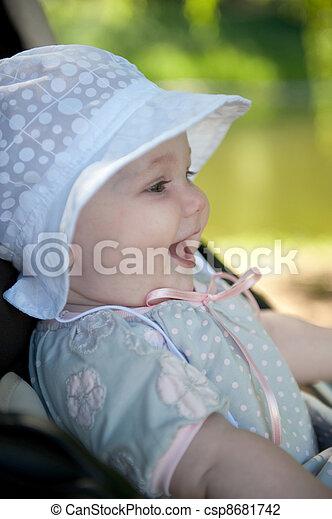 Baby in panama - csp8681742