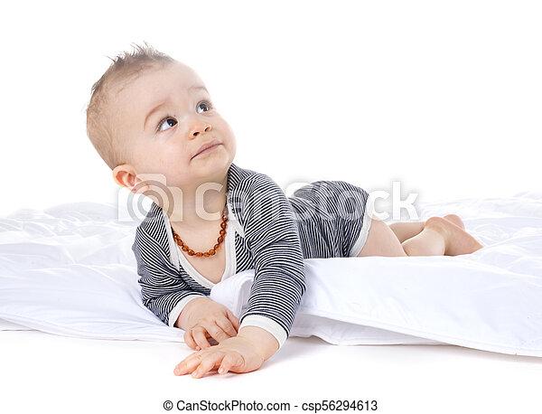 baby in studio - csp56294613