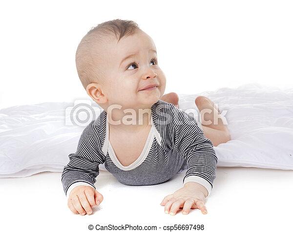baby in studio - csp56697498