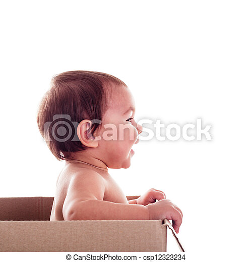 Baby in the box - csp12323234