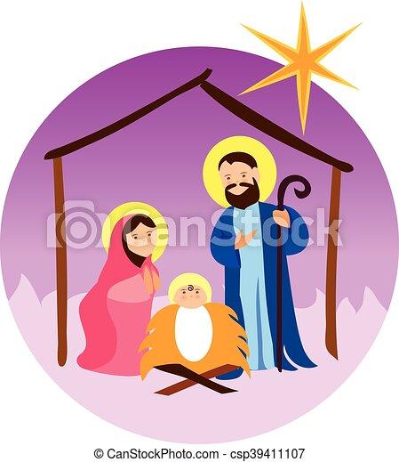 Baby Jesus In A Manger 11