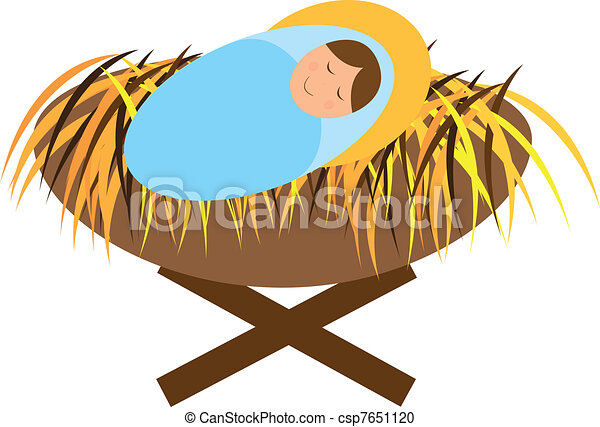 baby jesus illustrations and stock art 2 771 baby jesus rh canstockphoto com manger clipart black and white manager clipart