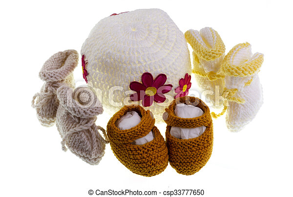Baby Knitting - csp33777650