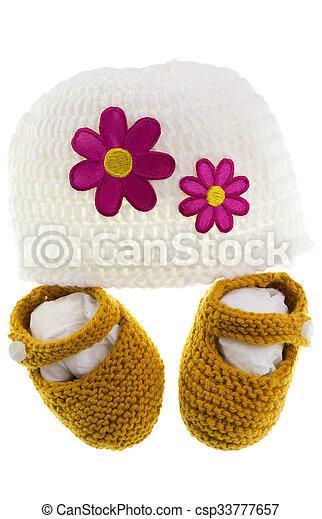 Baby Knitting - csp33777657