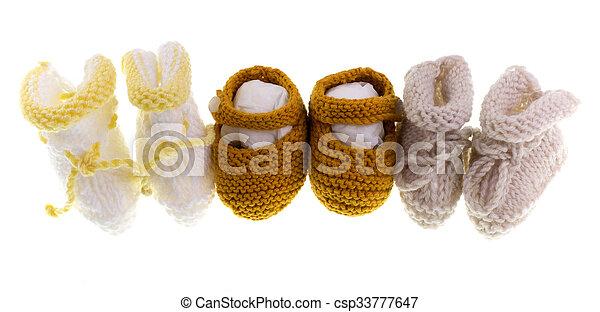 Baby Knitting - csp33777647