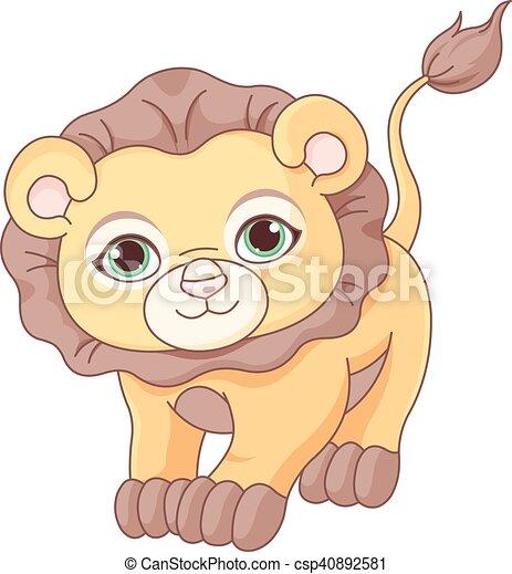 Baby Lion - csp40892581