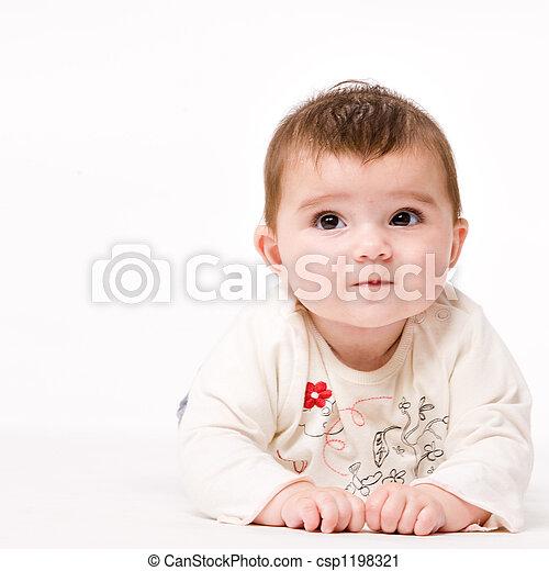 Baby lookup - csp1198321