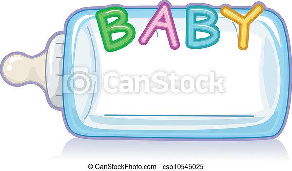 Baby Milk Bottle - csp10545025