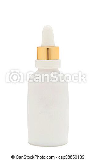 baby milk bottle isolated - csp38850133