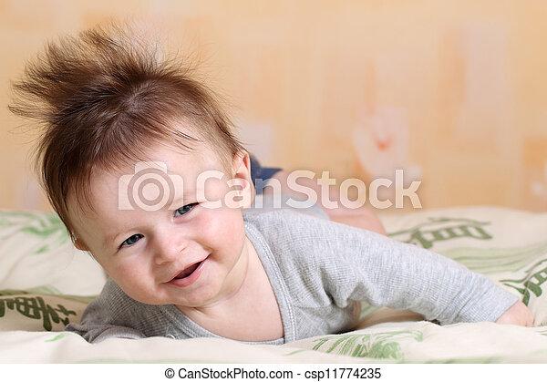 Baby Mohawk Frisur