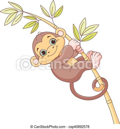 Baby Monkey - csp40892578