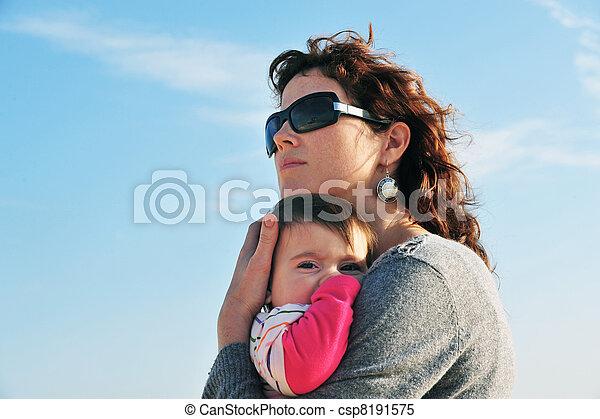Baby Mother Daughter - csp8191575