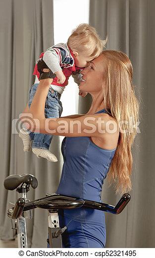 Baby Mother Love - csp52321495