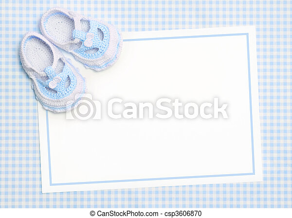 baby, neu , ankündigung - csp3606870