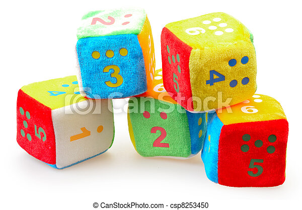 Baby Number Blocks - csp8253450