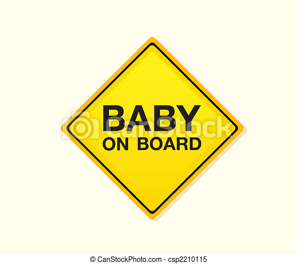Baby on board - csp2210115