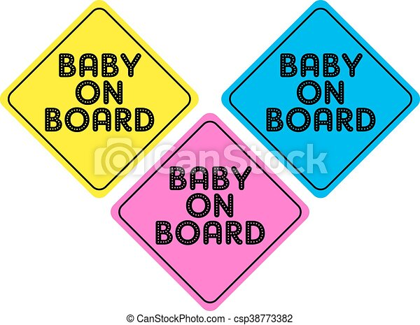 baby on board - csp38773382
