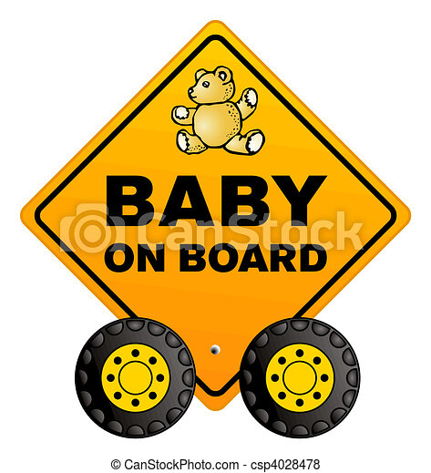 baby on board - csp4028478