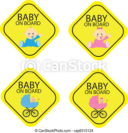 Baby on board - csp6315124