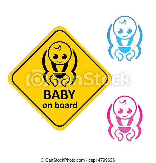 Baby on board - csp14799636