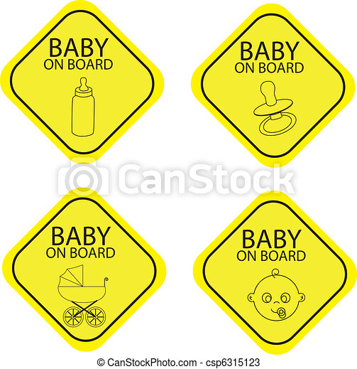 Baby on board - csp6315123