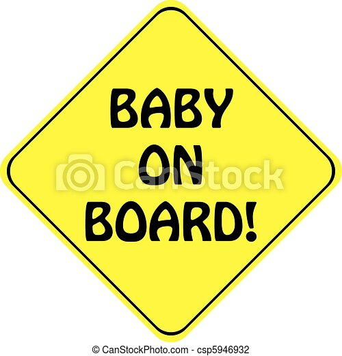 BABY ON BOARD - csp5946932