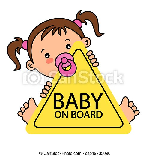 Baby on Board Sign - csp49735096
